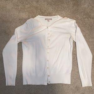 Cream cardigan barely worn